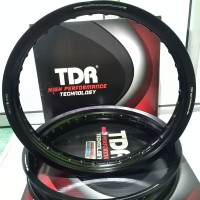 VELG TDR UKURAN 185 215 RING 17 WX BLACK