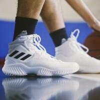Adidas Pro Bounce High White Basket Shoes For Man Premium Original