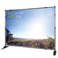 Backwall Backdrop Stand Jumbo Banner Background 3 m x 2,4 m
