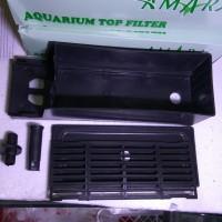 Boks filter kosong box kotak aquarium besar sedang