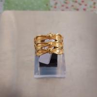 Cincin emas model Borobudur 24k 6 Gram
