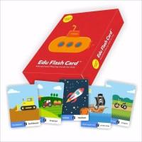 Mainan Anak Kartu Belajar / Edu Game Flashcard Transportasi Seri