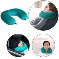 Bantal Relaksasi alat pijat Leher Elektrik Getaran Travel refleksi