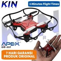 KIN APEX Mini Drone GD 50F RC Quadcopter Mainan Remote Control