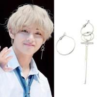 Anting BTS korea pria Murah Earrings Bangtan V tusuk kpop
