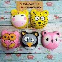 Squishy Animals Head by Sugarsweet