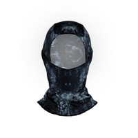 DK Headwear Black Grunge Balaclava