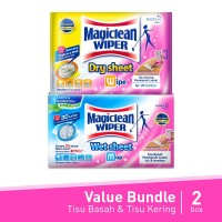 Magiclean Wiper Dry & Wet Sheet Value Bundle