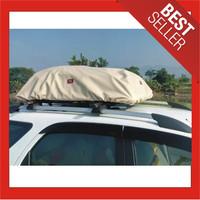 Cover Roof Rack Bag Exclusive Kulit Sintetis/Penutup Bagasi Atas Mobil