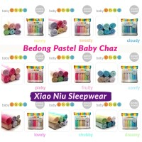 Selimut Bedong Baby Chaz Pastel Mood isi 6 pcs