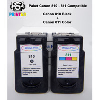Paket Canon 810-811 (PG-810 & CL-811) Black & Color Cartridge IP2770