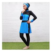 Baju Renang Muslim Muslimah Wanita Sporte