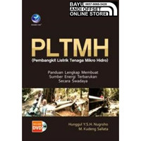 Buku Murah - PLTMH - Pembangkit Listrik Tenaga Mikro Hidro Bonus CD