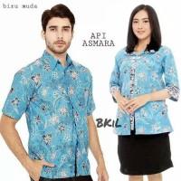 Couple blus kantil/Couple blus batik arumi pendek