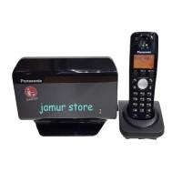 Telepon Rumah GSM Kartu Wireless Panasonic KX-TW501GR + Cordless 1pcs