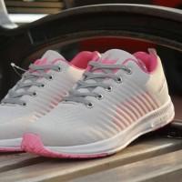 Sepatu Cewek Adidas Abu Pink