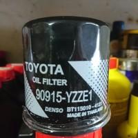 Filter Oli Toyota YZZE1 mobil Yaris Vios Altis All New Corolla