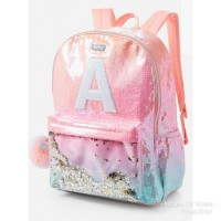 JUSTICE OMBRE INITIAL SHAKY BACKPACK - TAS BACKPACK SMIGGLE