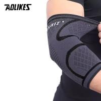 AOLIKES Elbow Support Wrap Sleeve Sleeves Deker Siku Tangan - M