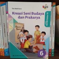 Buku Kreasi SBK SD kelas 6 K13 revisi