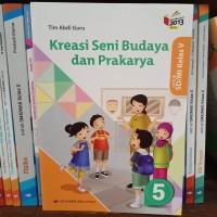 Buku Kreasi SBK SD kelas 5 K13 revisi