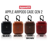 Airpods 2 Earpods Gen 2 Case PU Leather Apple Airpods PPREMIUM