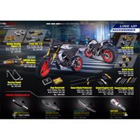 Original Accessories Sakura Muffler Slash Tail Yamaha MT15/R15 VVA