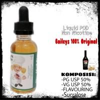 Liquid Vape Baileys Non Nicotine Khusus POD dan Close System