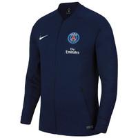Jaket Jersey Bola Nike PSG Paris St Germain Anthem ORIGINAL Navy