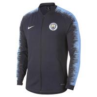Jaket Jersey Bola Nike Manchester City Anthem ORIGINAL Obsidian