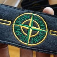Jaket Pria / Jacket -- Patch badge emblem bordir stone island