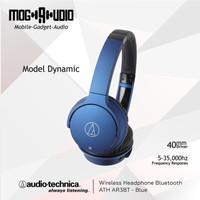Audio Technica ATH AR3BT / AR3 BT Wireless Headphone Bluetooth - Blue