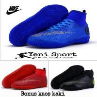 Sepatu Futsal Adidas Techfit X Blue Pink