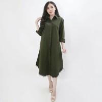Baju Atasan Wanita Murah DREES Maxi NUNO ARMY Best seller
