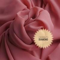 Kain Sifon Ceruti Diamond/Bahan Krudung/Jilbab/Gamis