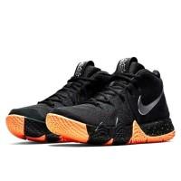Sepatu Basket Nike Kyrie Irving 4 Original 943808. Black Orange.