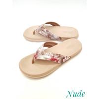 New Era - Sandal Wanita Bermotif Bunga