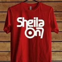 tshirt/baju/kaos sheila on 7 a1