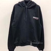 100% original balenciaga hoodie new hot item black