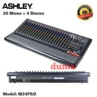 Mixer Ashley M 24 PRO Original Ashley M24PRO 24 Channel 20 Mono - 4 St
