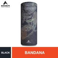 Eiger Borneo 4Rest Bandana - Black