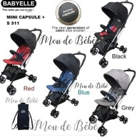 Stroller Baby Elle Mini Capsule + Plus S311