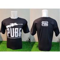 Kaos Distro Katun combed PUBG Sniper AWP Black