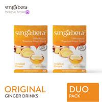 Singabera Premium Original Ginger Drink (Jahe) - 2 box @ 12 sachet