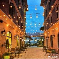 kabel lampu gantung 5m 10fiting custom outdoor waterproof cafe