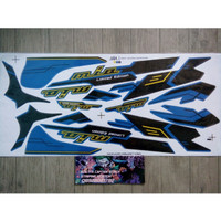 Lis Striping Sticker Mio Sporty Limited Edition Biru