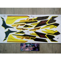 Lis Striping Sticker Mio Sporty Limited Edition Kuning
