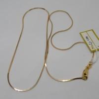 Rantai kalung emas asli kadar 700 22k 70 itali italy polos 2 3 5 g gr