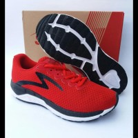 Sepatu Running Specs Dual Enduro True Red/Black/White Art.200505 -