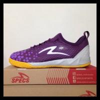 Sepatu Futsal Specs Metasala Knight Plum Purple 400734 Original Bnib